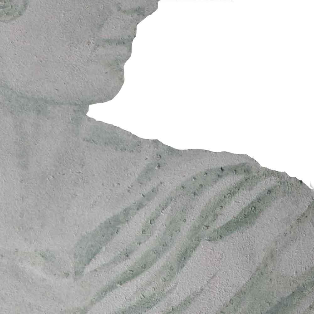 fresque antique représentant un détail de la toge d'un empereur romain