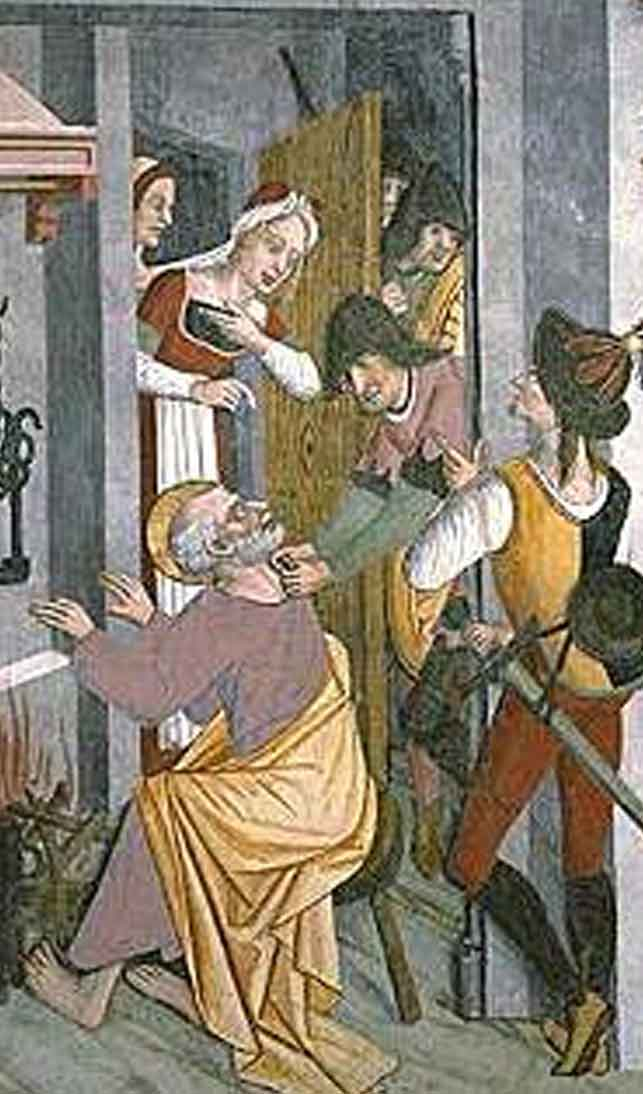 Fresque du Moyen Age