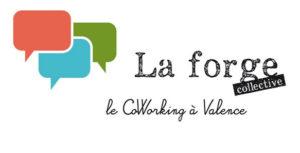 Logo La Forge Collective espace coworking à Valence
