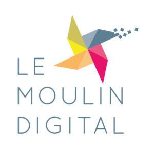 Logo Le Moulin Digital espace Coworking Rovaltain